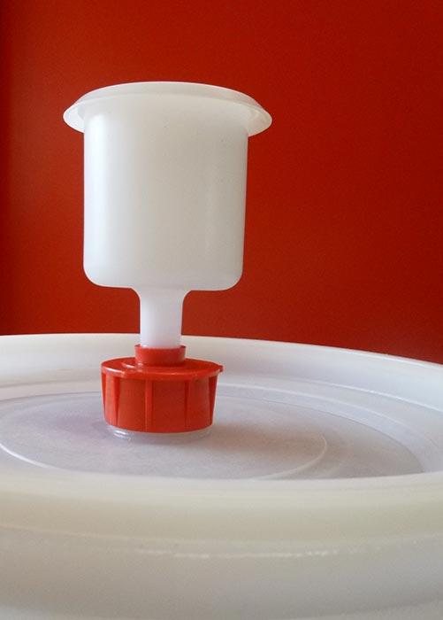 waterslot cilindrisch model